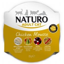 Naturo Kot Adult Kurczak Grain Free tacka 85g