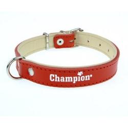 Champion Obroża Skórzana na skórce czerwona SK/S 40/1,8(R) [SOS]