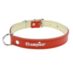 Champion Obroża Skórzana na skórce czerwona SK/S 60/2,5 (R) [SOS]