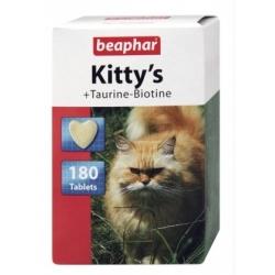 Beaphar Kitty's Taurine + Biotine tabletki witaminowe 75szt