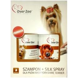 Over Zoo Dwupak Szampon + Silk Spray dla psów rasy Yorkshire Terier