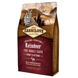 Carnilove Cat Reindeer Energy & Outdoor - renifer 2kg