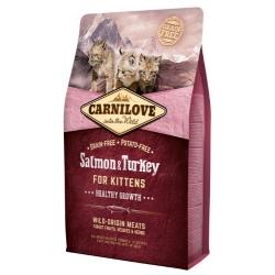 Carnilove Cat Salmon & Turkey for Kittens - łosoś i indyk 2kg