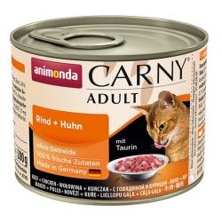 Animonda Carny Adult Wołowina + Kurczak puszka 200g