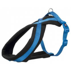 Trixie Uprząż Premium M-L 50-80cm/25mm niebieska [TX-204002]