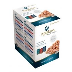 Applaws saszetki dla kota Fish Selection Multi Pack 12x70g