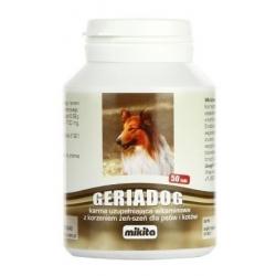Mikita Geriadog 50 tabletek - preparat dla starszych lub osłabionych psów i kotów