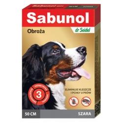 Sabunol GPI Obroża przeciw pchłom dla psa szara 50cm