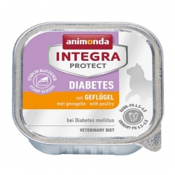 Animonda Integra Protect Diabetes dla kota - z drobiem tacka 100g