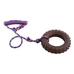 Sum-Plast Zabawka Opona duża ze sznurkiem