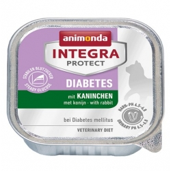 Animonda Integra Protect Diabetes dla kota - z królikiem tacka 100g