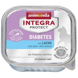 Animonda Integra Protect Diabetes dla kota - z łososiem tacka 100g