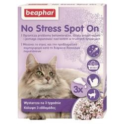 Beaphar No Stress Spot On dla kotów - 3 pipety