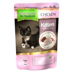 Natures Menu Kot Kitten - kurczak saszetka 100g