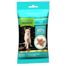 Natures Menu Kot Smakołyki - łosoś i pstrąg 60g