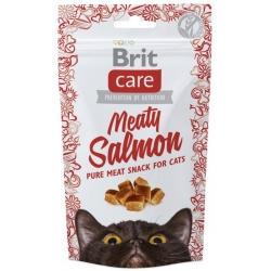Brit Care Cat Snack Meaty Salmon 50g