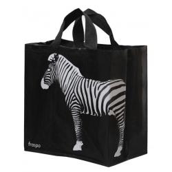 Torba Animals 24L zebra czarna