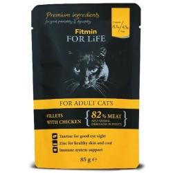 Fitmin Cat For Life Adult Chicken saszetka 85g