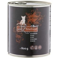 Catz Finefood Purrrr N.109 Wieprzowina puszka 800g