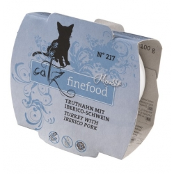 Catz Finefood Mus N.217 Indyk/Wieprzowina tacka 100g