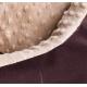 Bimbay Pokrowiec do kanapy Minky r.2 - 80x65cm brąz-beż