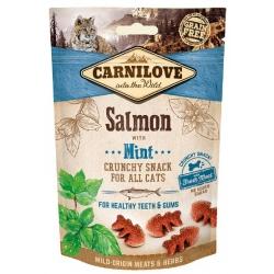 Carnilove Cat Snack Fresh Crunchy Salmon+Mint 50g