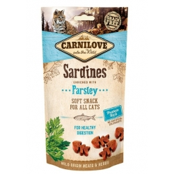 Carnilove Cat Snack Fresh Soft Sardine+Parsley 50g