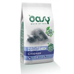 Oasy Kot Dry Mature & Senior Kurczak 300g