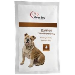Over Zoo Szampon z chlorheksydyną dla psów i korów saszetka 20ml
