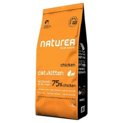 Naturea Cat & Kitten Kurczak 100g