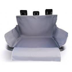 Kardiff Kardibag Protect Plus Mata do bagażnika z nakładką na zderzak L popielata