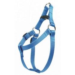 CHABA Szelki taśma regulowane nr 1 - obwód 40cm niebieskie