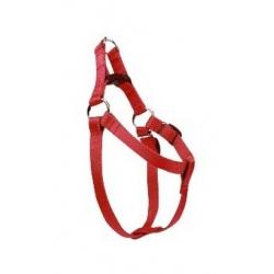 CHABA Szelki taśma regulowane nr 1 - obwód 40cm czerwone