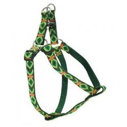 CHABA Szelki taśma ozdobne nr 2 - obwód 50cm zielone