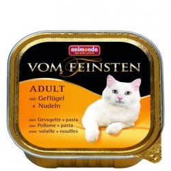 Animonda vom Feinsten Cat Adult z Drobiem i Makaronem tacka 100g