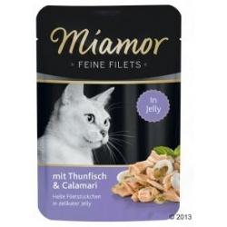 Miamor Feine Filets Tuńczyk & Kalmary saszetka 100g