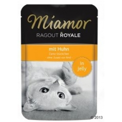 Miamor Ragout Royale z Kurczakiem w galaretce saszetka 100g