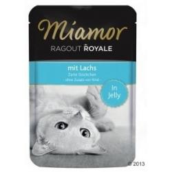 Miamor Ragout Royale z Łososiem w galaretce saszetka 100g
