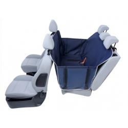Kardiff Kardimata Anti Slip z bokami 123x154 granatowa - mata samochodowa na tylne fotele