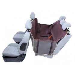 Kardiff Kardimata Anti Slip z bokami 133x157 brązowa - mata samochodowa na tylne fotele