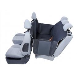 Kardiff Kardimata Anti Slip z zamkiem i bokami 137x167 czarna - mata samochodowa na tylne fotele