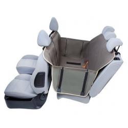 Kardiff Anti Slip mata samochodowa na tylne fotele z zamkiem i bokami L oliwkowa