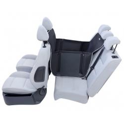 Kardiff Anti Slip Mini 1/2 Mata samochodowa na połowę tylnego fotela czarna