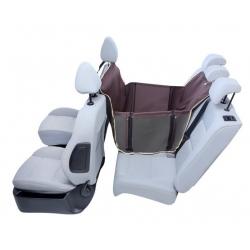 Kardiff Anti Slip Mini 1/2 Mata samochodowa na połowę tylnego fotela brązowa