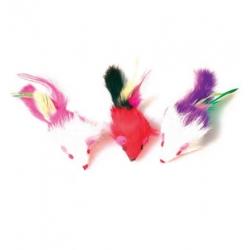 Zolux Trzy myszki z piórami [480424]