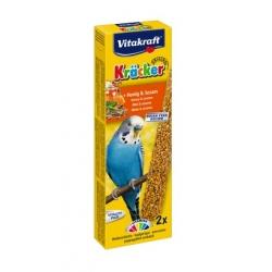 Vitakraft Kracker 2szt Papuga falista Miodowy 60g [10606]