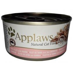 Applaws puszka dla kota Tuńczyk i Krewetki 156g
