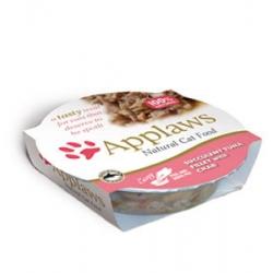Applaws miseczka dla kota Filet z Tuńczyka z Krabami 60g