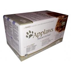 Applaws miseczki dla kota Fish Selection Multi Pack 8x60g