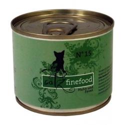 Catz Finefood N.15 Kurczak i Bażant puszka 200g